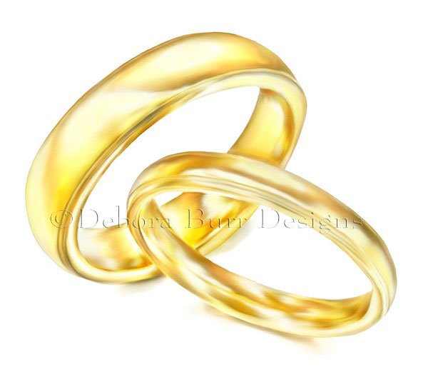 gold wedding rings patterns images